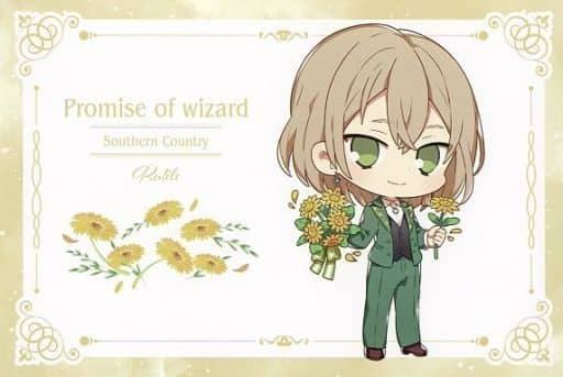 Rutile Original Postcard 「 Wizard's Promise ×SWEETS PARADISE 」 Goods Purchase benefits