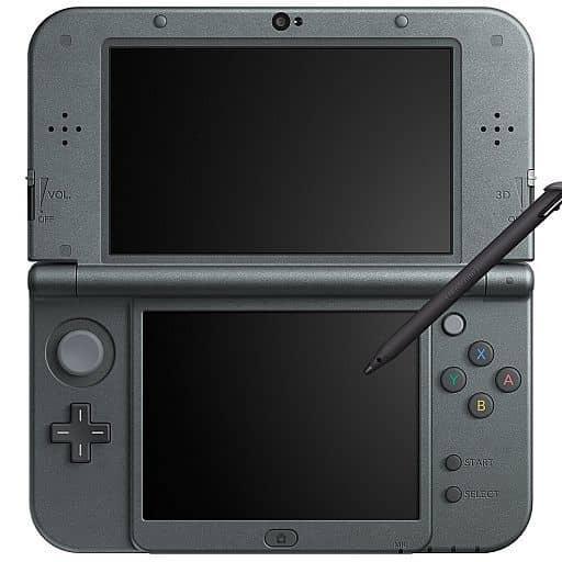 New Nintendo 3DSLL main body metallic black (only main parts, no box theory)