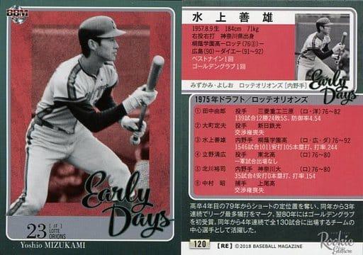 120 [Regular Card] : Yoshio Mizukami
