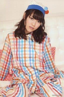 "Yui Kaori/Kaori Ishihara/Knees/Costume Orange/White/Yellow/Hat/Sitting/Postcard Size/Yui Kaori 1st LIVE TOUR ""WAKE UP!!"""