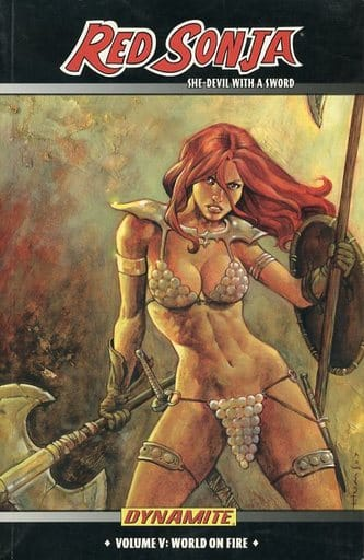 RED SONJA: She-devil WITH a Sword (5)