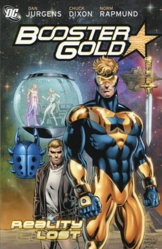 Booster Gold: Reality Lost(纸背景 )