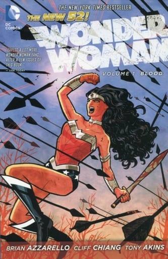 Wonder Woman: Blood(The New 52)(纸背景 )(1)