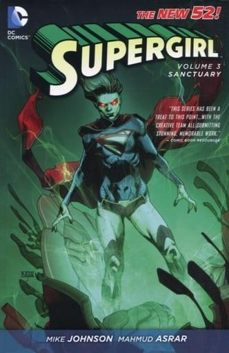 Supergirl: Sanctuary(The New 52)(纸背景 )(3)