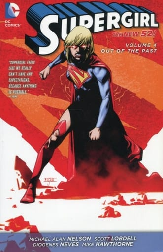 Supergirl:Out of the Past(The New52)(平装本)(4)