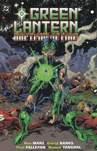 Green Lantern:Baptism of Fire(平装书)