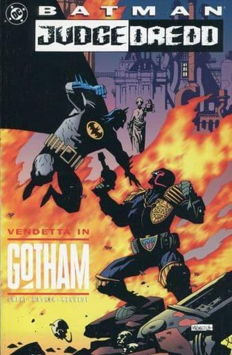 Batman-Judge Dredd: Vendetta in Gotham(纸背景 )