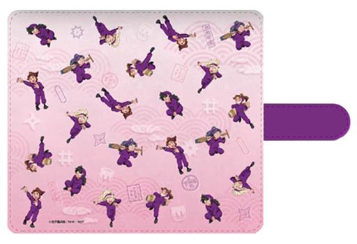 "Fourth grader (pink) Universal · Flip cover M size ""Nintama Rantaro"""