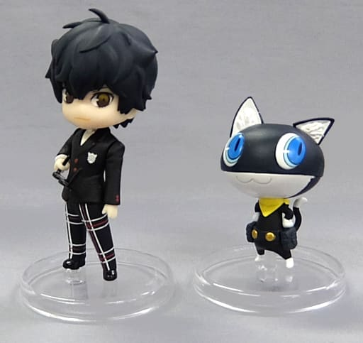 Persona 5 20 th Anniversary Lee Eddy Fami-dori DX Pack 3D Crystal Set (Condition : DX Pack Special Clear Poster Missing)
