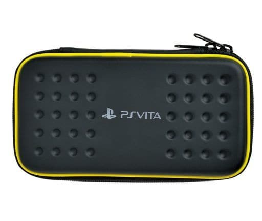Tough Pouch Black × Yellow (for PSVita)