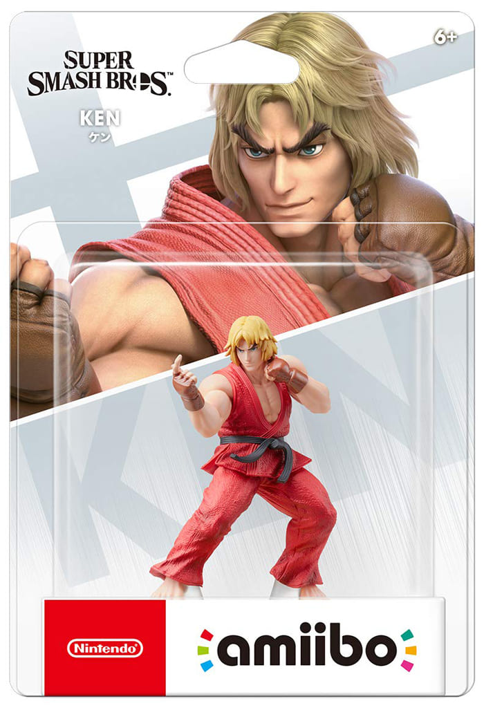 amiibo Ken (Great scuffle smash Brothers series)