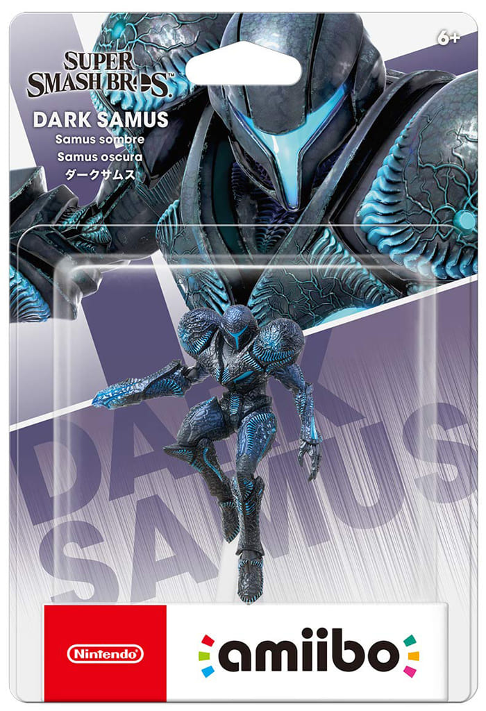 amiibo Dark Samus (Super Smash Bros. Brawl Series)