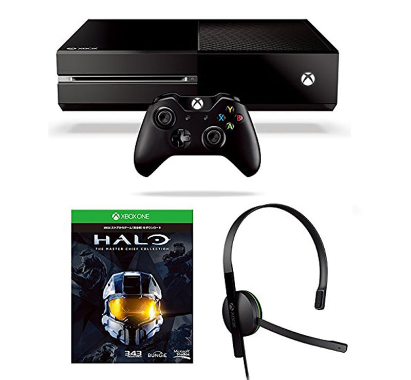 XboxOne本体 Halo:The Master Chief Collection同梱版