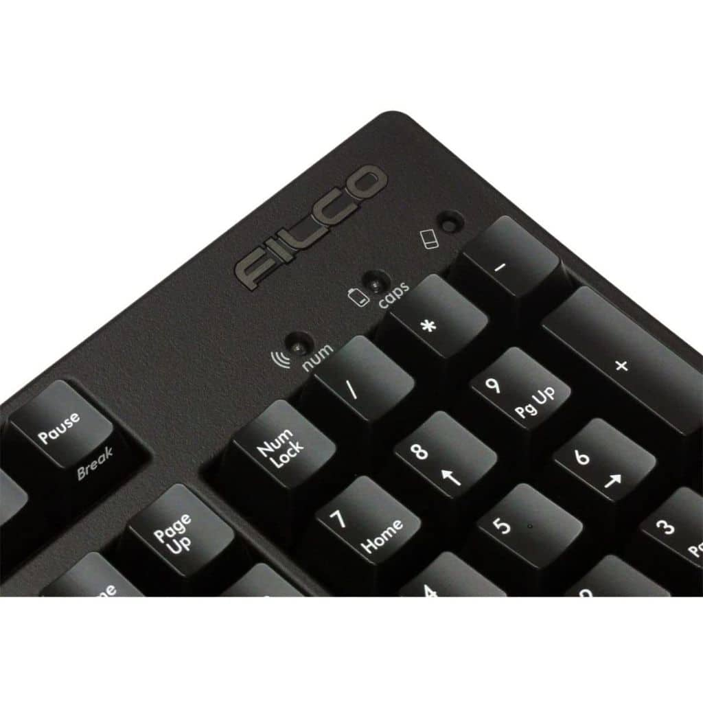 Wired / Wireless Mechanical Keyboard Majestouch Convertible 2 Red Shaft (Black) [FKBC104MRL/EB2]
