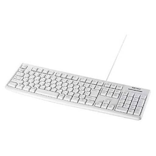 Wired Keyboard BSKBU100WH (White) [BSKBU100WH]