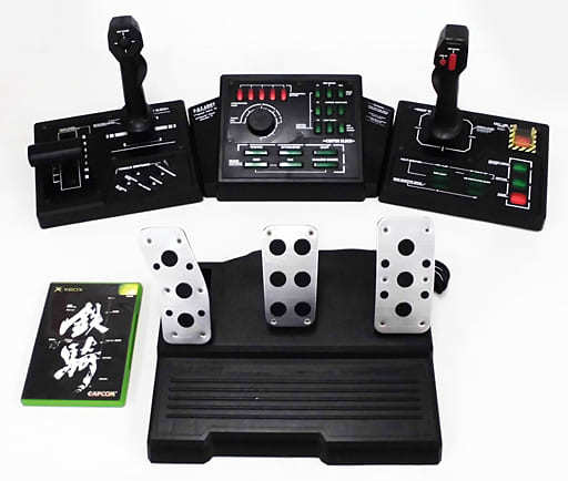 Steel Battalion (Special Controller Included) (Condition : Missing Instruction Manual, Main Pump Button Recognition Difficulty)
