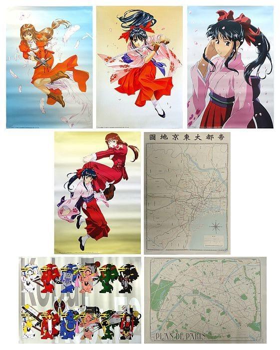 Details about  /SAKURA WARS CHRONICLE BOX Complete Ltd Art Set Book