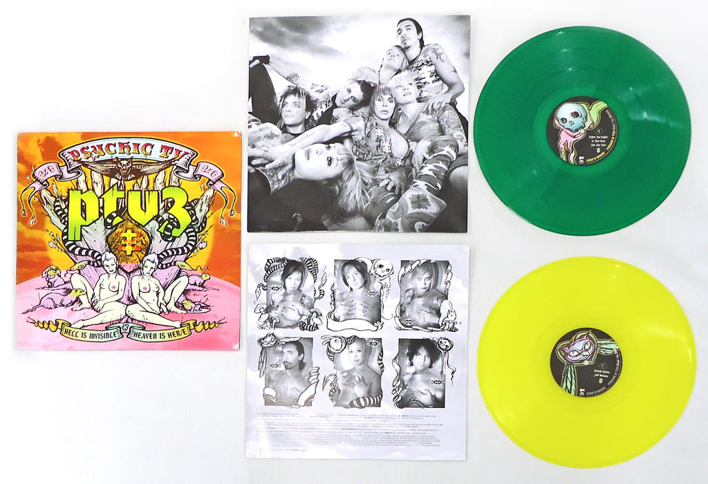 PSYCHIC TV / PTV3 HELL IS INVISIBLE … HEAVEN IS HER/E [Import Edition]