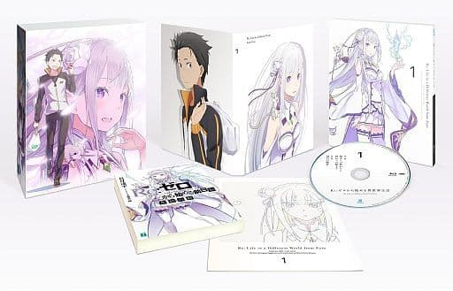 Re:ZeRo Starting Life in Another World 1 [First Press Limited]