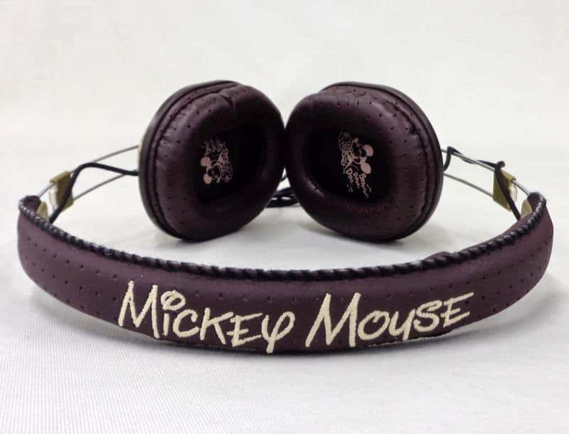 Mickey Mouse Closed Stereo Headphone GDN-09BR Brown 「 Disney 」