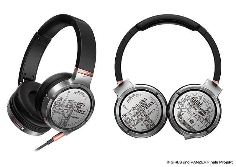 [Missing Accessories] Logo SE-MHR5 High Resolution Compatible Headphone 「 GIRLS & PANZER Final Chapter ×Pioneer 」