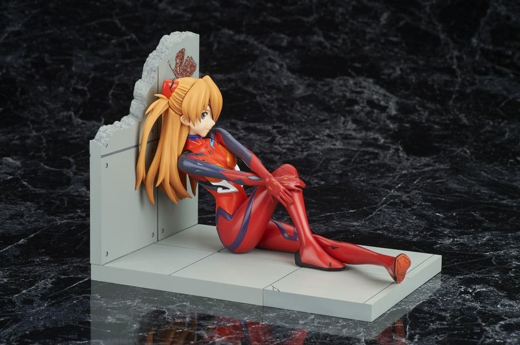 Shikinami / Aska / Langley Plug Suit Ver. New Theater Version Color 「 Shin Evangelion Theater Version 」 1/7 PVC Painted Finished Product