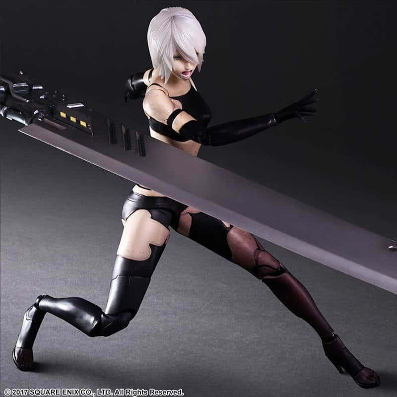 PLAY ARTS改良A型二號DX版「NiEr:Automata(尼爾:自動人形)」