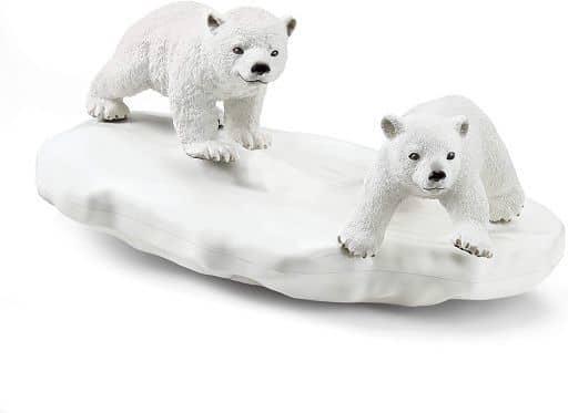 Polar Bear and narwhal 「 Schleich - Schleich - 」 WILD LIFE - Wild Life - No. 42531