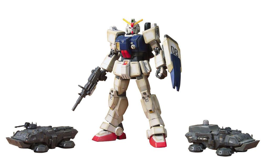 1/144 HGUC Land Battle Gundam Ground Battle Set 「 MOBILE SUIT GUNDAM: THE 08th MS TEAM 」