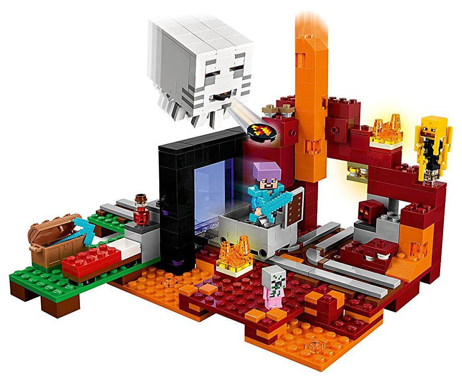 LEGO Minecraft Dark Portal From Japan