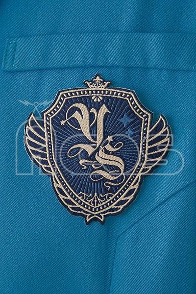 "Yume no Saki Gakuin Uniform (Men 's Winter) Blue M Size ""Anba Stars!"""