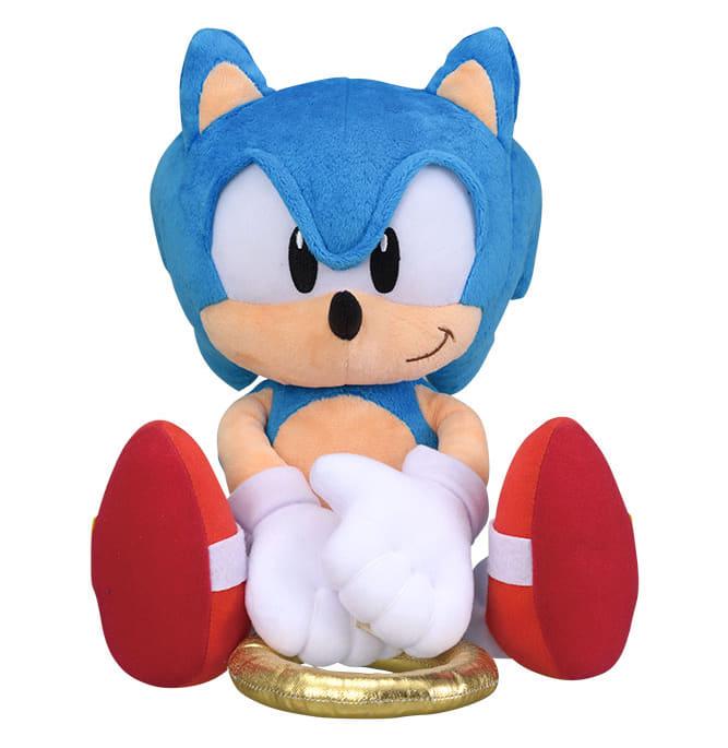 Classic Sonic Odekake Plush Sonic The Hedgehog Toys Figures Hobbies Suruga Ya Com