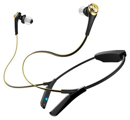 Audio-technica Wireless Stereo Headset (Black Gold) [ATH-CKS550BTBGD] (Body Only)