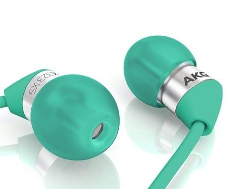 Harman AKG Acoustics Canal Type Earphones K323 xs (Green) [K323XSGRN]