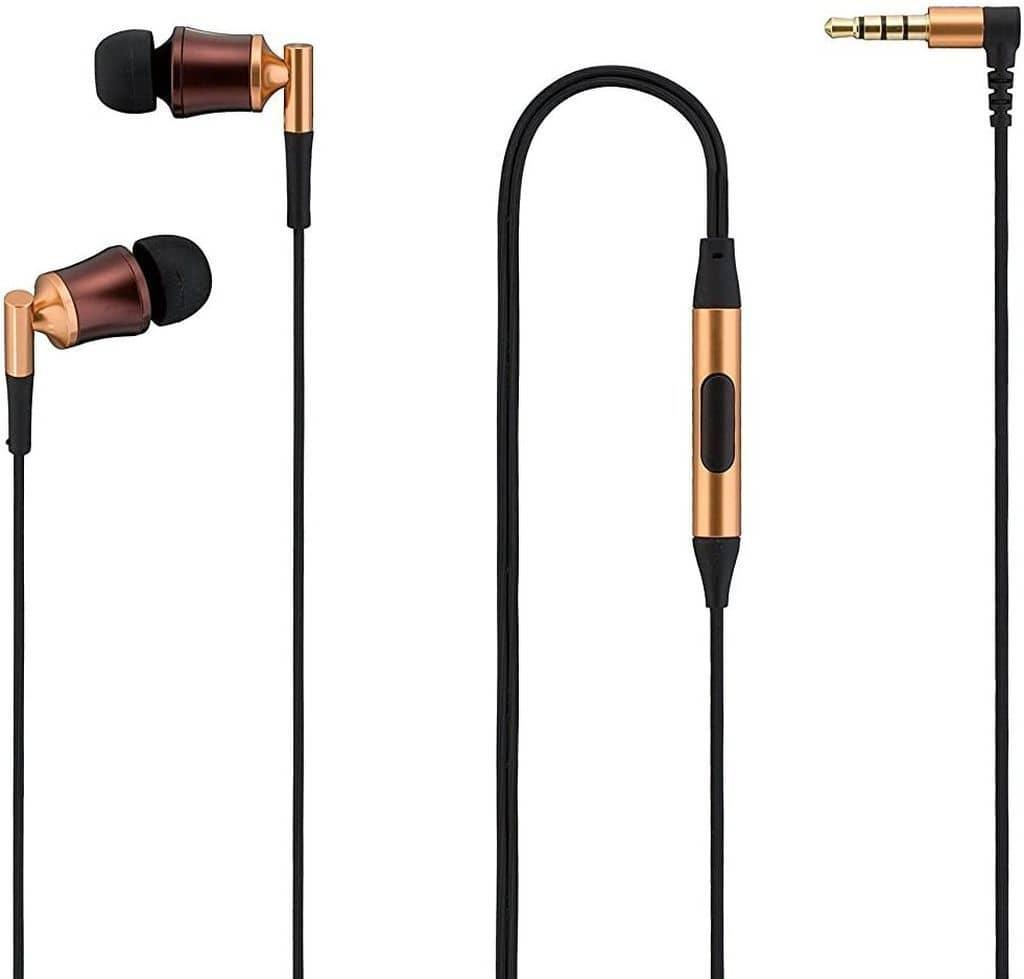 SoftBank High Resolution Compatible Earphone SE-5000HR (Copper) [SB-EM03-ISSP/CO]