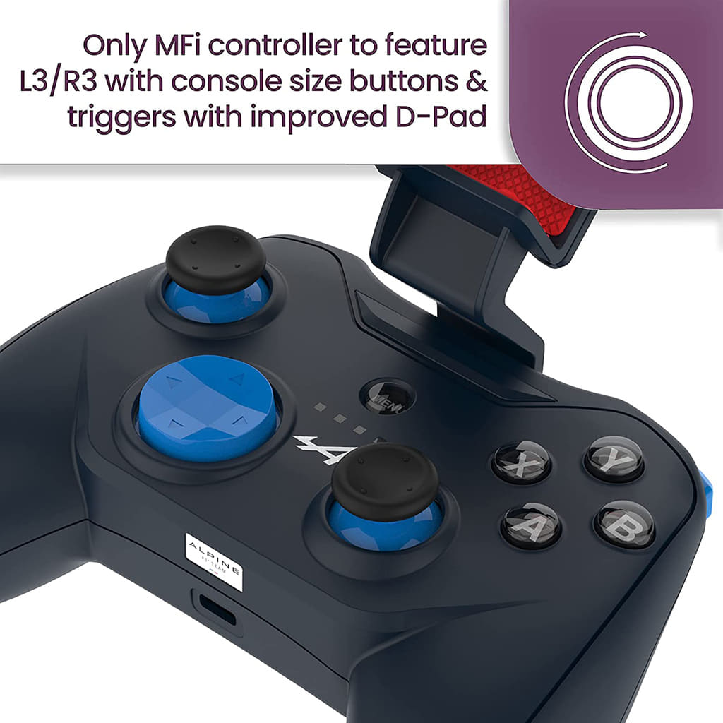 Rotor Riot Game Pad Controller Alpine Edition for iOS iPhone