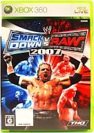 WWE2007 Smack Down! vs Raw