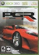 北米版 PGR -PROJECT GOTHAM RACING3-(国内版本体動作不可)