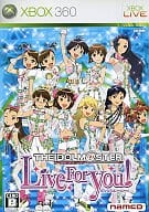 Idol Master Live For You!