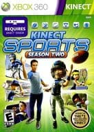 North American version KINECT SPORTS SEASON TWO (domestic version operation possible)