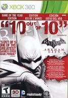North American version BATMAN ARKHAM CITY - GAME OF THE YEAR EDITION - (domestic version main body operable)