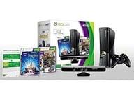 XB360本体(4GB) + Kinect DLアドベンチャーズ同梱