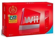 Wii Red Super Mario 25 th Anniversary
