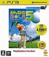 Everybody's GOLF5 [PS3 the Best]