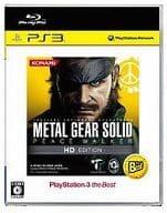 Metal Gear Solid Peace Walker HD Edition [PS3 the Best]