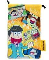 Osomatsu Cleaner drawstring bag 14 Matsu Ver.