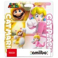 Amiibo Double Set [Cat Mario / Cat Peach] (Super Mario series)