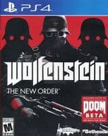 North American version of WOLFENSTEIN THE NEW ORDER (for those aged 18 and over, Japanese version can be operated)