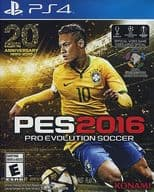 North American version PES2016 - PRO EVOLUTION SOCCER - (Domestic version can be operated)
