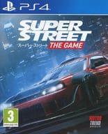 EU version of SUPER STREET THE GAME (domestic version can be operated)